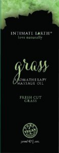 Intimate Earth INTIMATE EARTH GRASS MASSAGE OIL FOIL SACHET 1OZ