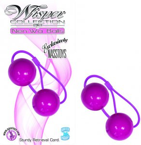 WISPER COLLECTION NEN WA BALLS PURPLE #NW22122