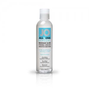 JO ALL IN ONE MASSAGE GLIDE UNSCENTED 4OZ #JO40023