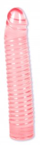 RIBBED JELLIE COCK 7IN SUNRISE CD #DJ558303