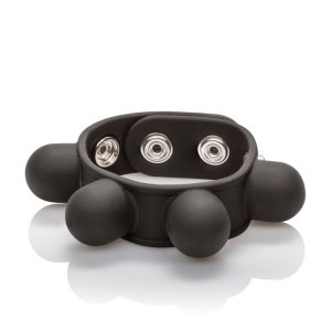 California Exotic Novelties WEIGHTED BALL STRETCHER BLACK #SE14