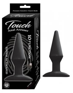Nasstoys TOUCH ANAL AROUSER BLACK #NW28981