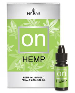 Sensuva ON FOR HER HEMP OIL 5ML BOTTLE #ONVL175L