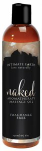 Intimate Earth INTIMATE EARTH NAKED MASSAGE OIL 8OZ #IE046240