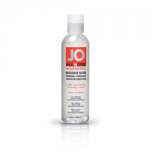 JO 4OZ ALL IN ONE WARMING MASSAGE GLIDE #JO40062
