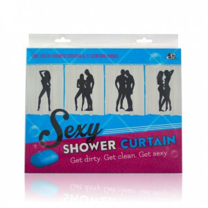 SEXY SHOWER CURTAIN F #SIN60012