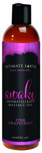 Intimate Earth INTIMATE EARTH AWAKE MASSAGE OIL 4OZ #IE043120