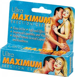 ULTRA MAXIMUM ERECTION CREAM .5OZ #NW0312