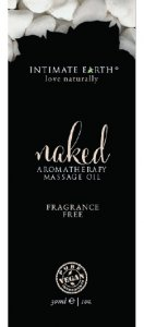 Intimate Earth INTIMATE EARTH NAKED UNSCENTED MASSAGE OIL FOIL S