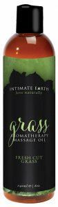 Intimate Earth INTIMATE EARTH GRASS MASSAGE OIL 8OZ #IE048240