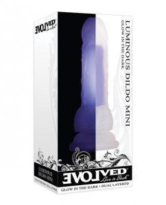 Evolved Novelties LUMINOUS DILDO MINI #ENDD62522