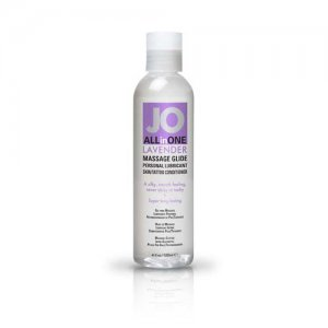 JO ALL IN ONE MASSAGE GLIDE LAVENDER 4 OZ #JO40024