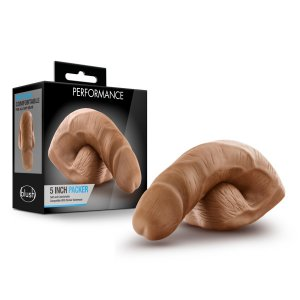 Blush Novelties PERFORMANCE 5 IN PACKER MOCHA #BN57857