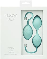 BMS Enterprises PILLOW TALK FRISKY TEAL KEGEL EXERCISER #BMS5671