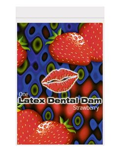 Dental Dam Strawberry #T6020